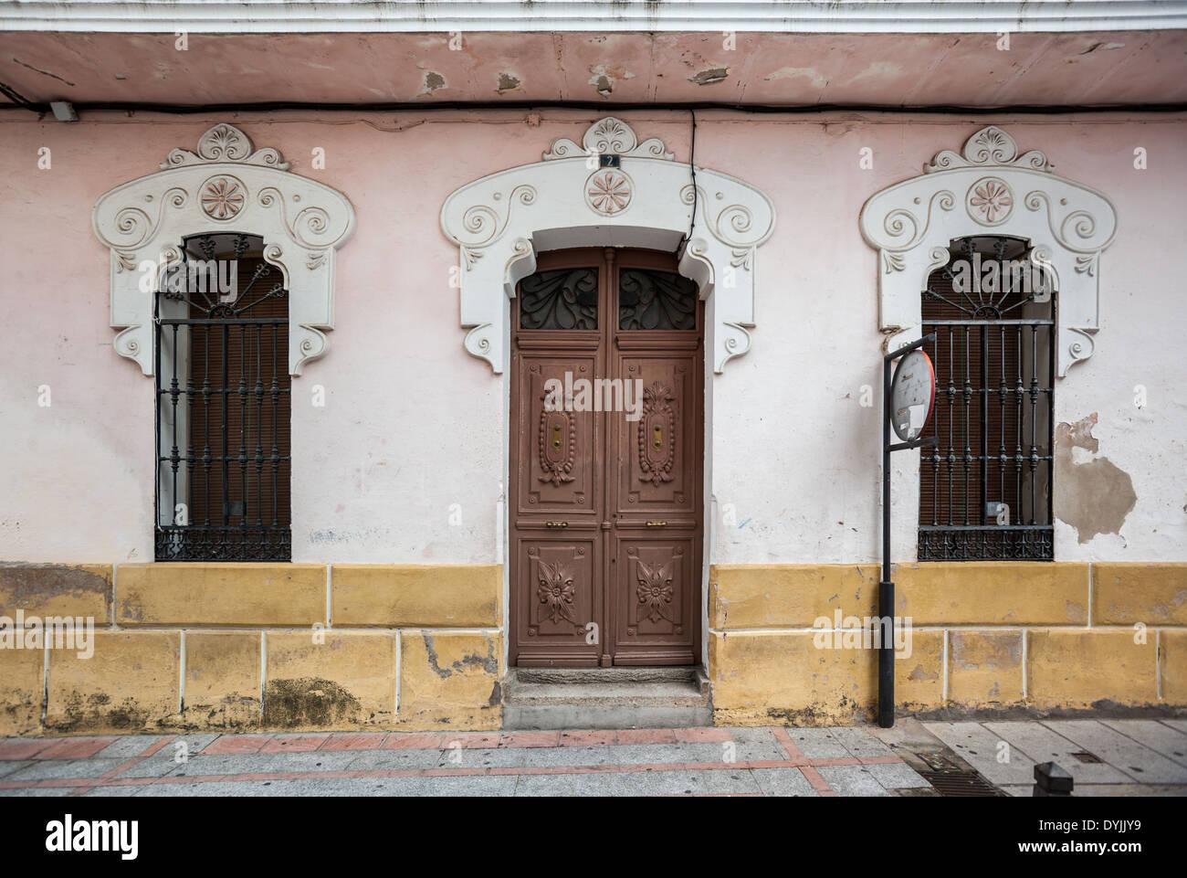 Hervas, Caceres, Extremadura, Spain, Europe - Stock Image