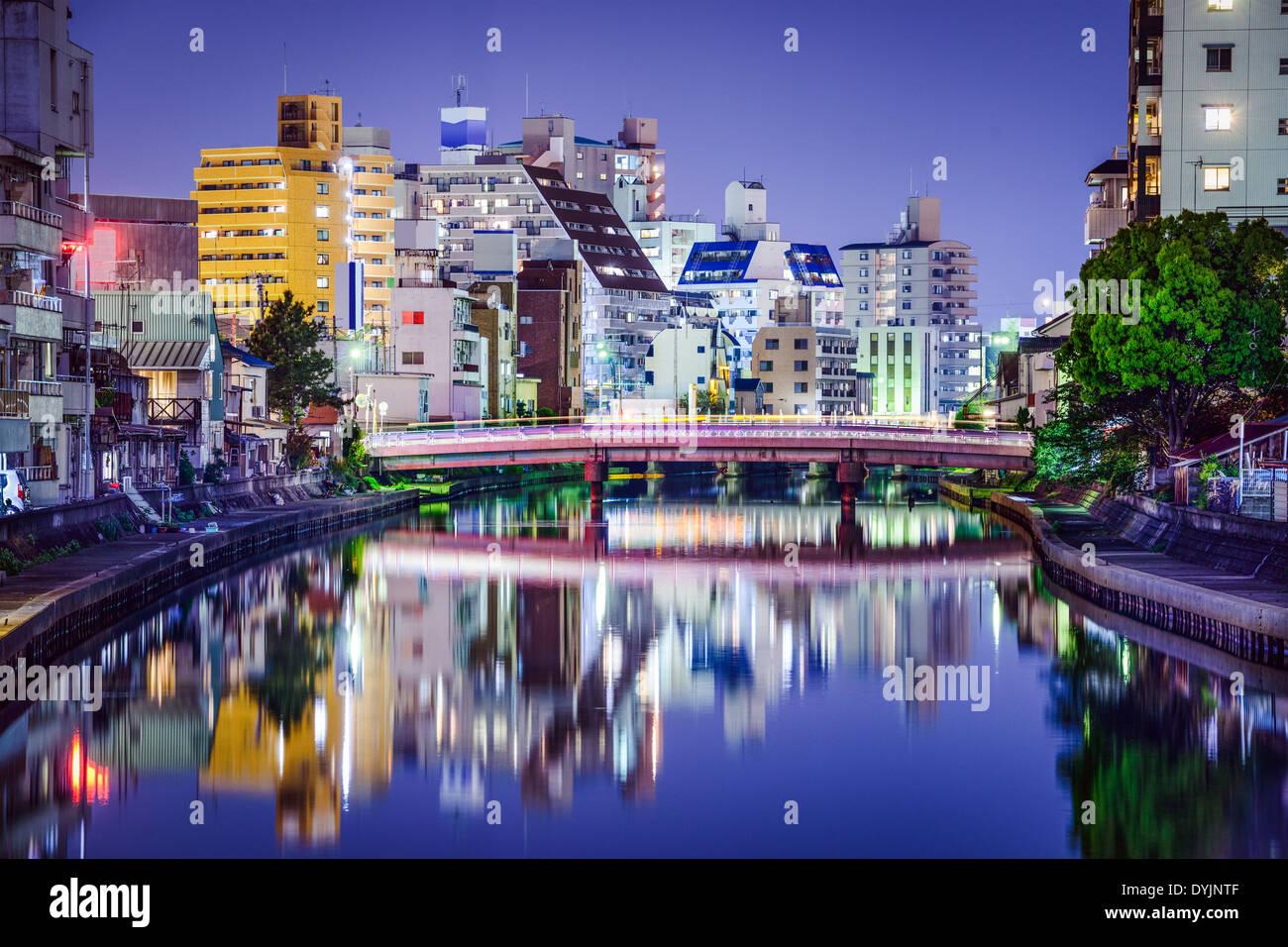 Wakayama City, Wakayama Prefecture, Japan. - Stock Image