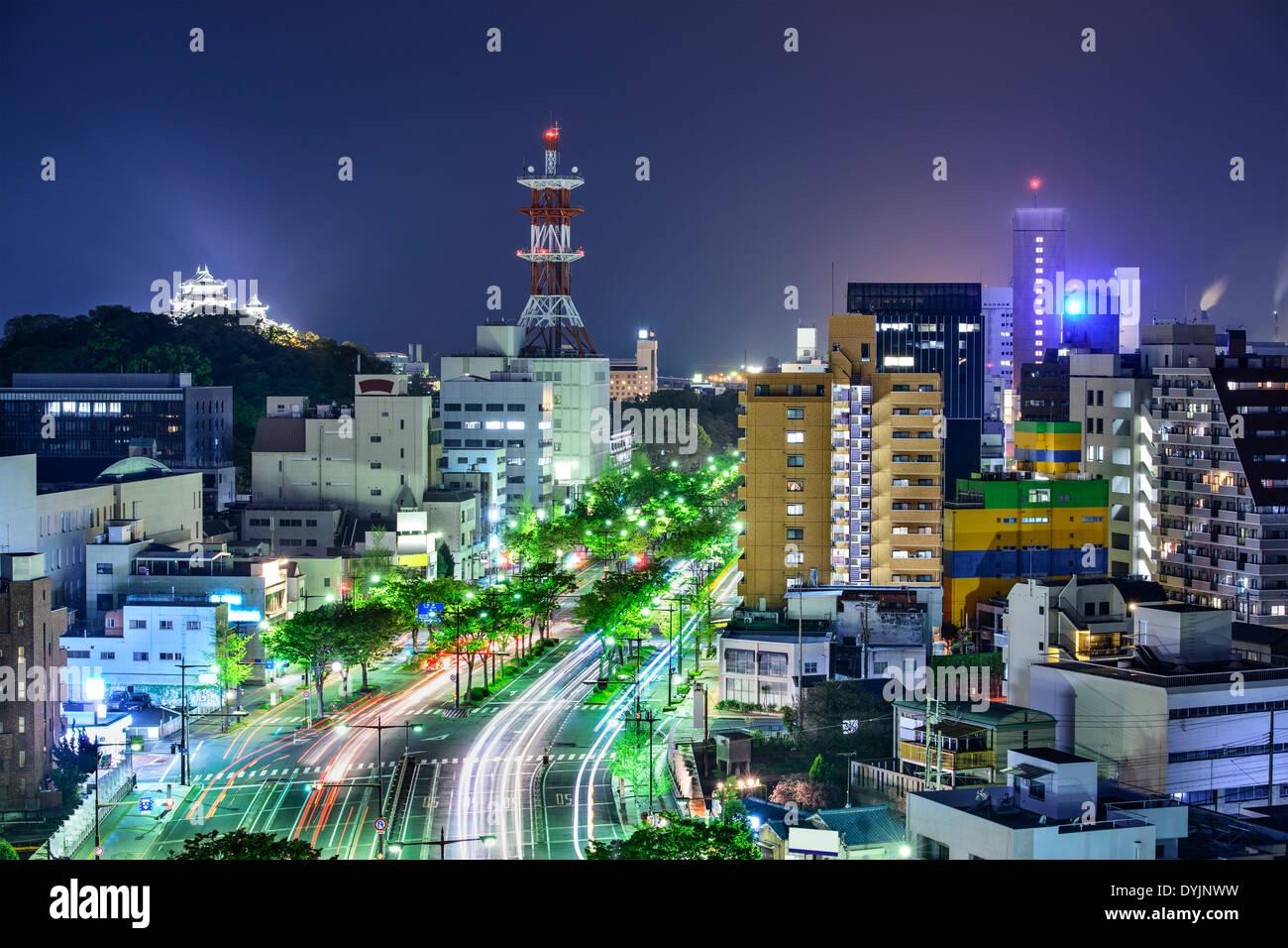 Wakayama City, Japan. - Stock Image