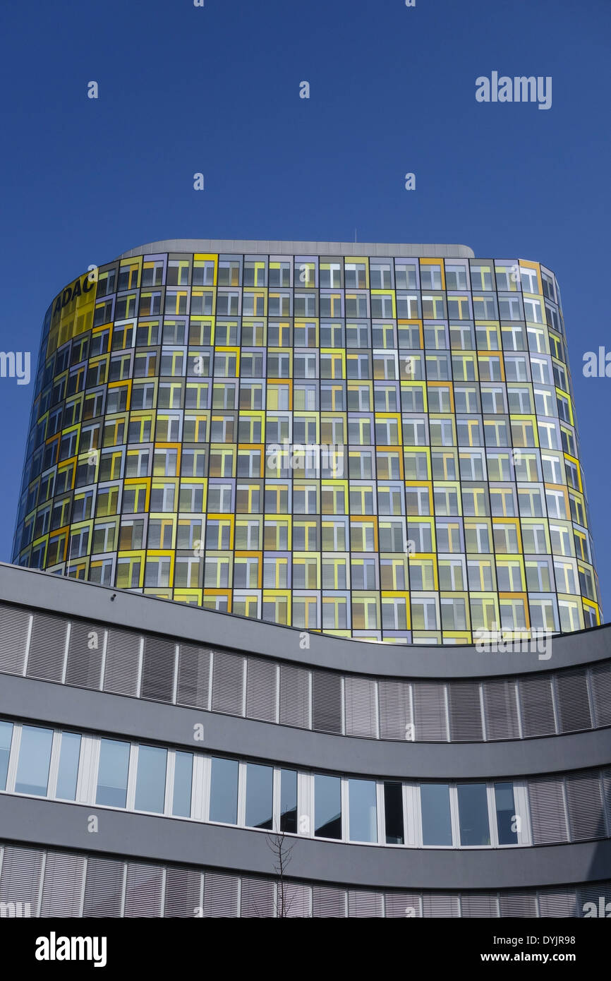 Neue ADAC-Zentrale, Hansastrasse 23-25, München, Bayern, Deutschland, Europa - Stock Image