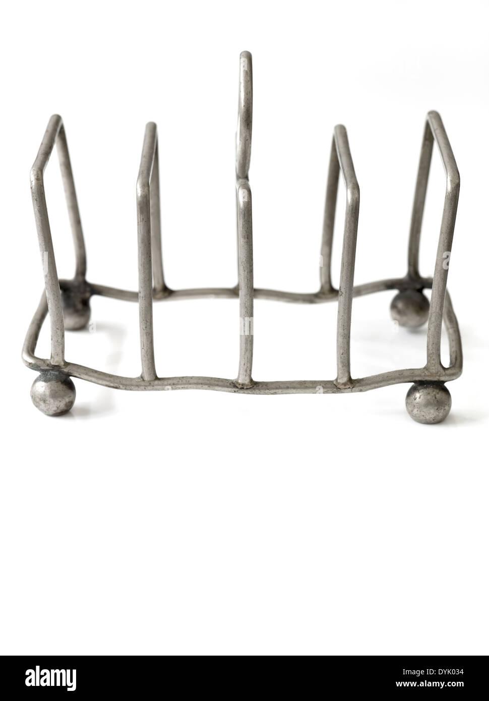 Vintage Metal Toast Rack - Stock Image