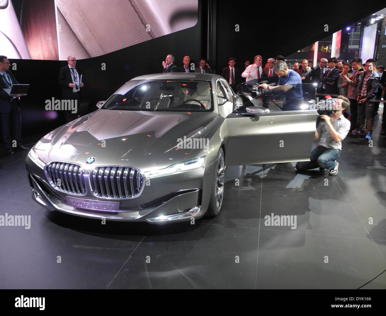 Luxury Car Vision >> Beijing China 20th Apr 2014 The Concept Car Vision Future Stock
