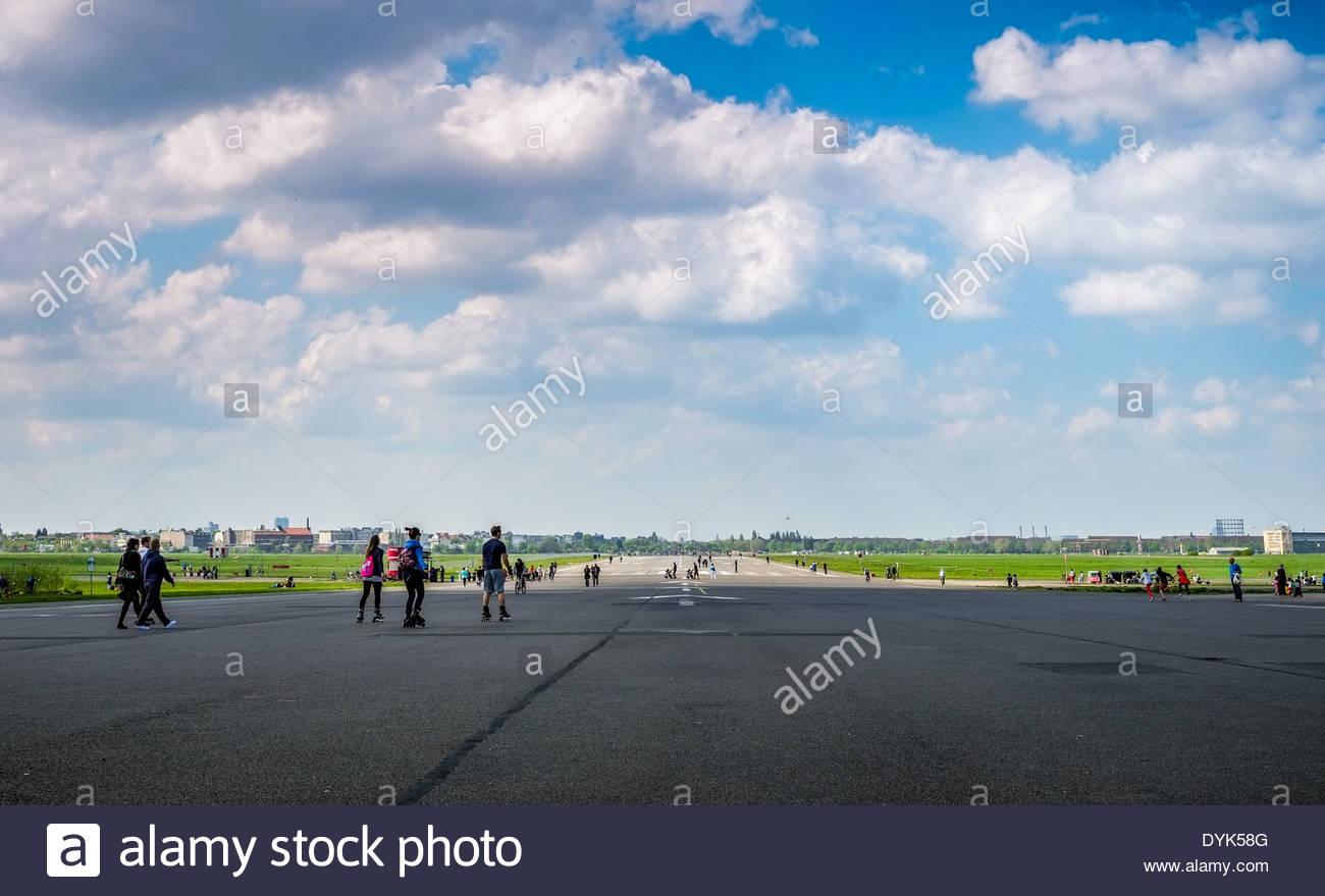 Airport Tempelhof Berlin, Germany - Stock Image