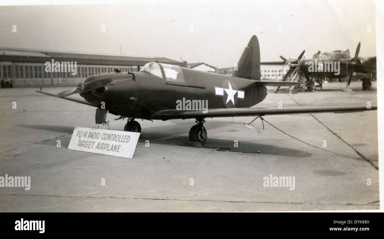 Army Air Forces Fair 029 Culver PQ-14 Cadet - Stock Image