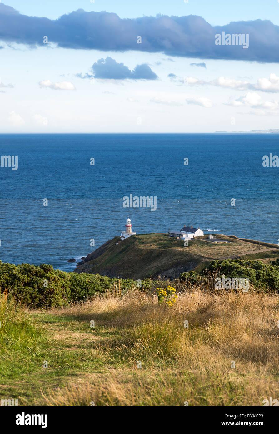 Ireland, Dublin county, the Dublin bay seen from the Howth headland Stock Photo