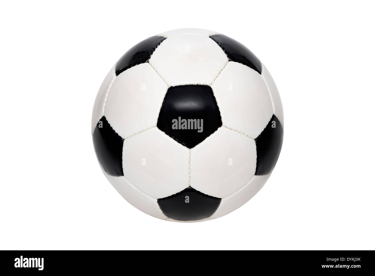 football soccer ball - Stock Image