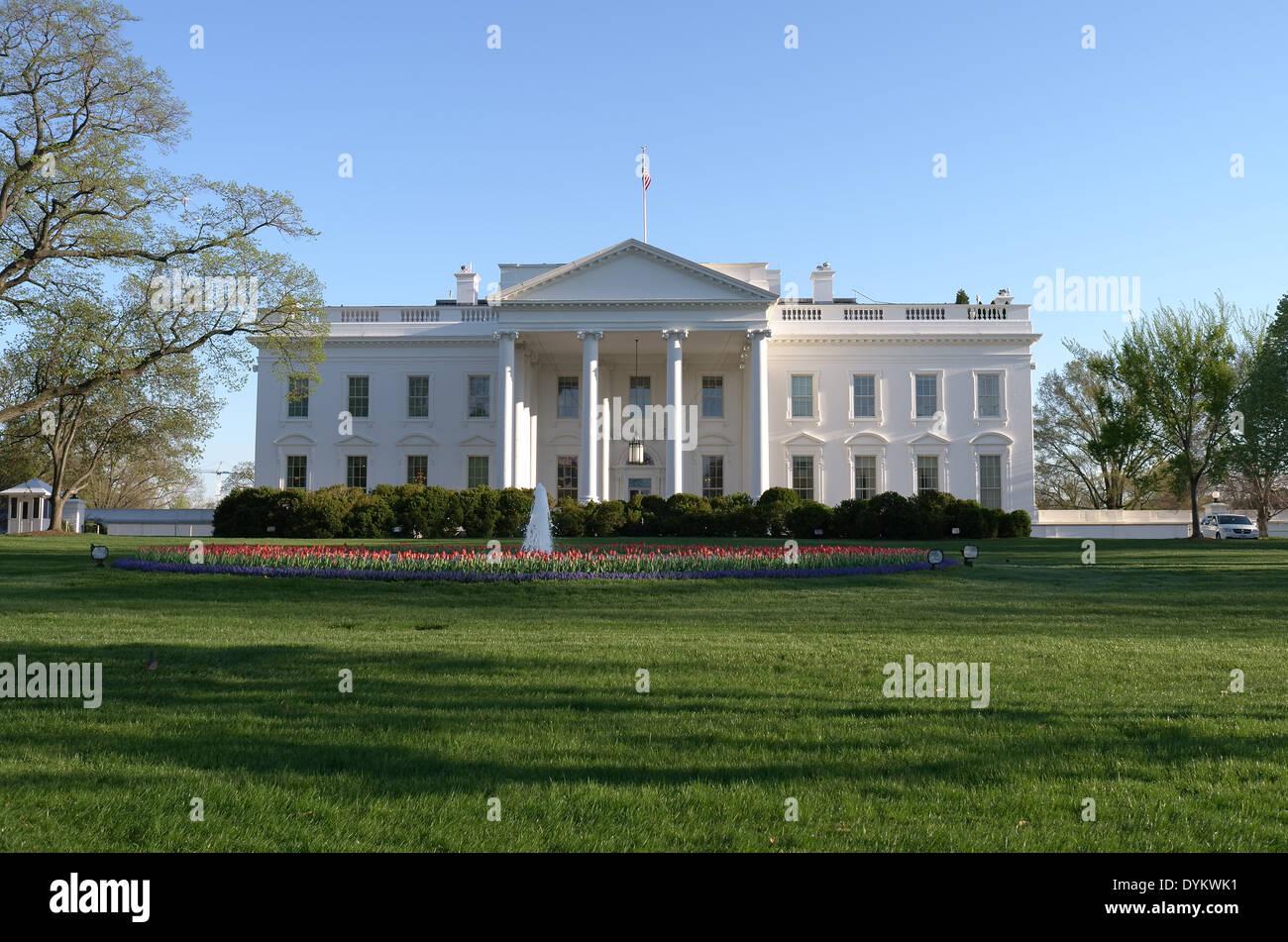 The White House, Washington. D.C. - Stock Image