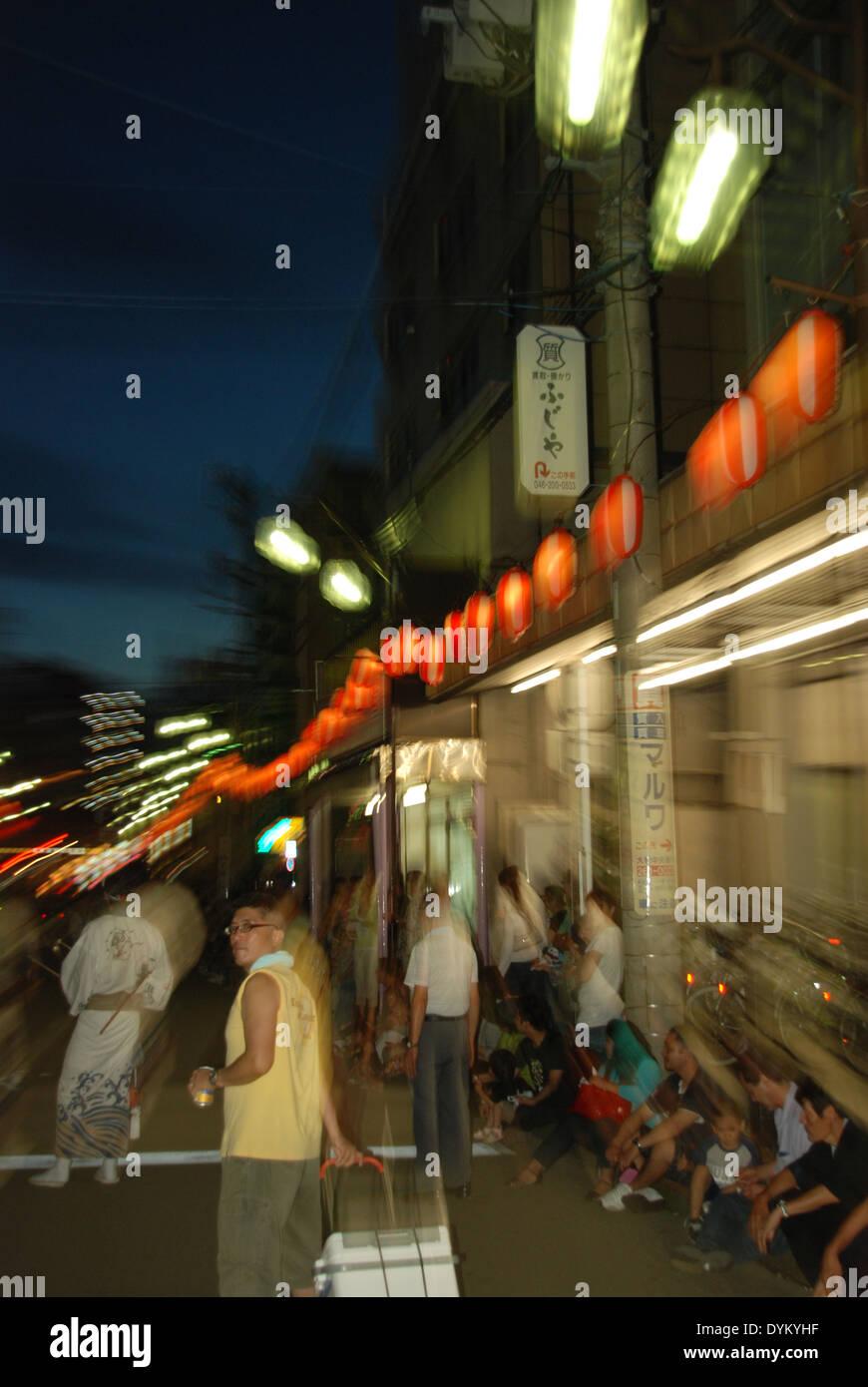 Yamato matsuri festival, Kanagawa Prefecture, Japan - Stock Image
