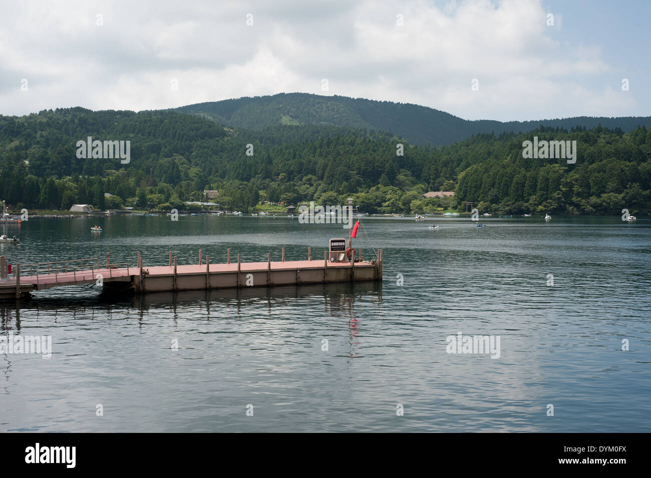 Ashinoko Lake, Hakone, Kanagawa Prefecture, Japan - Stock Image