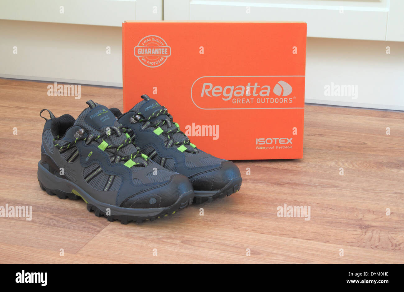 Pair of Mens Regatta Walking Boots With