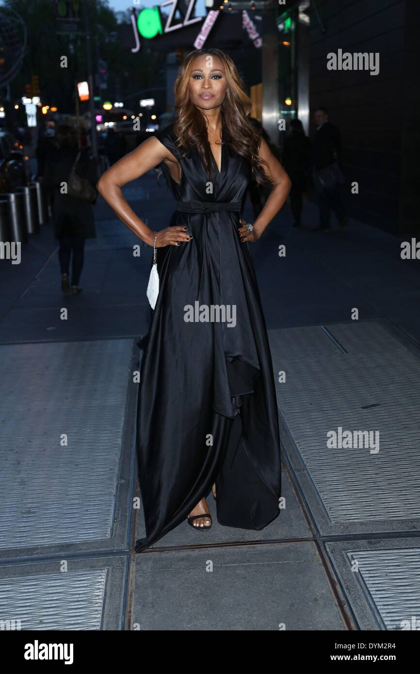 New York, NY, USA. 21st Apr, 2014. Cynthia Bailey at arrivals for New Yorkers For Children New Year's in April: Stock Photo