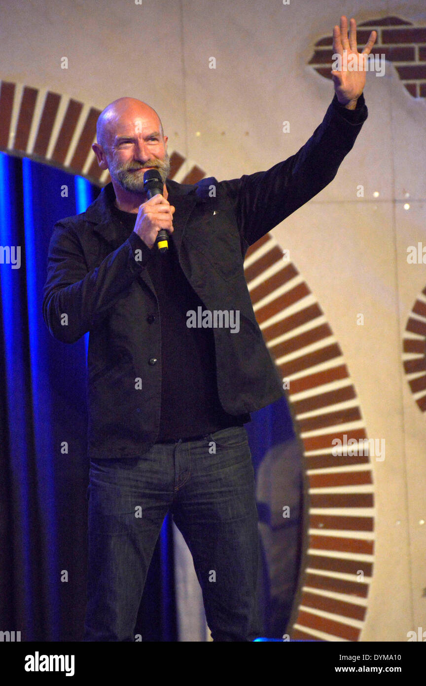 Scottish actor Graham McTavish at the HobbitCon 2 convention at the Maritim Hotel in Bonn, Germany. On April 19, 2014/picture alliance - Stock Image