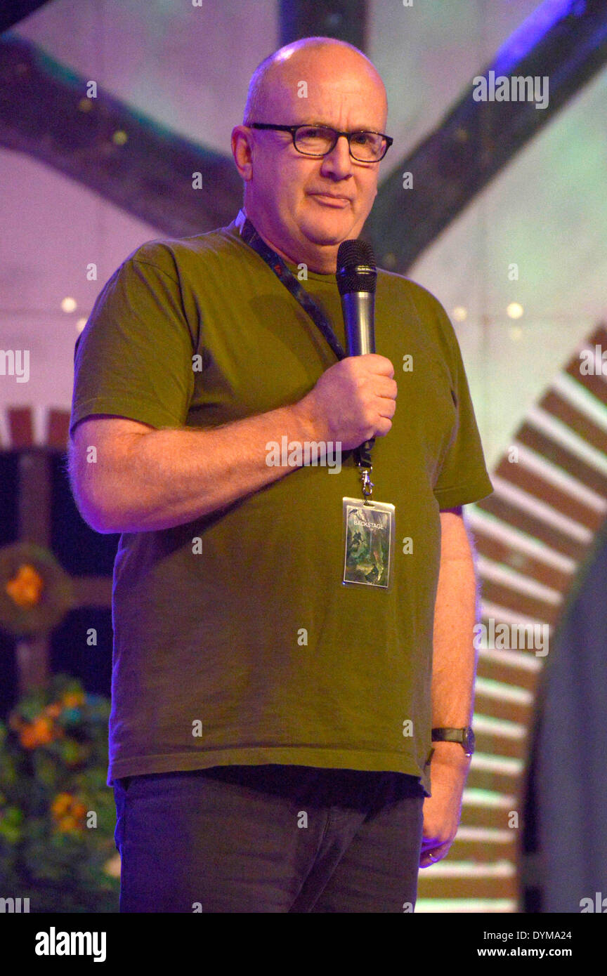 New Zealand actor Peter Hambleton at the HobbitCon 2 convention at the Maritim Hotel in Bonn, Germany. On April 19, 2014/picture alliance - Stock Image