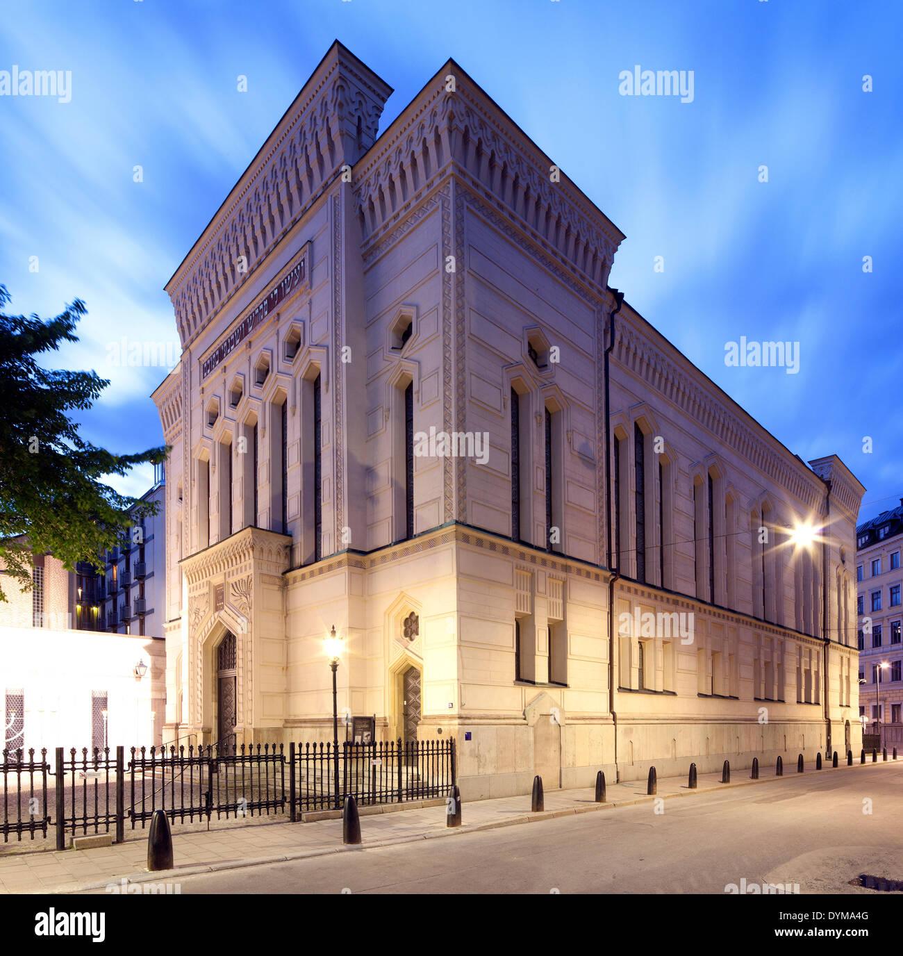 Great Synagogue, Stora synagogan, Stockholm, Stockholm County, Sweden - Stock Image