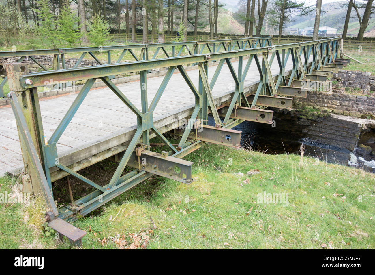 Small Portable Bridges : Bailey bridge stock photos images