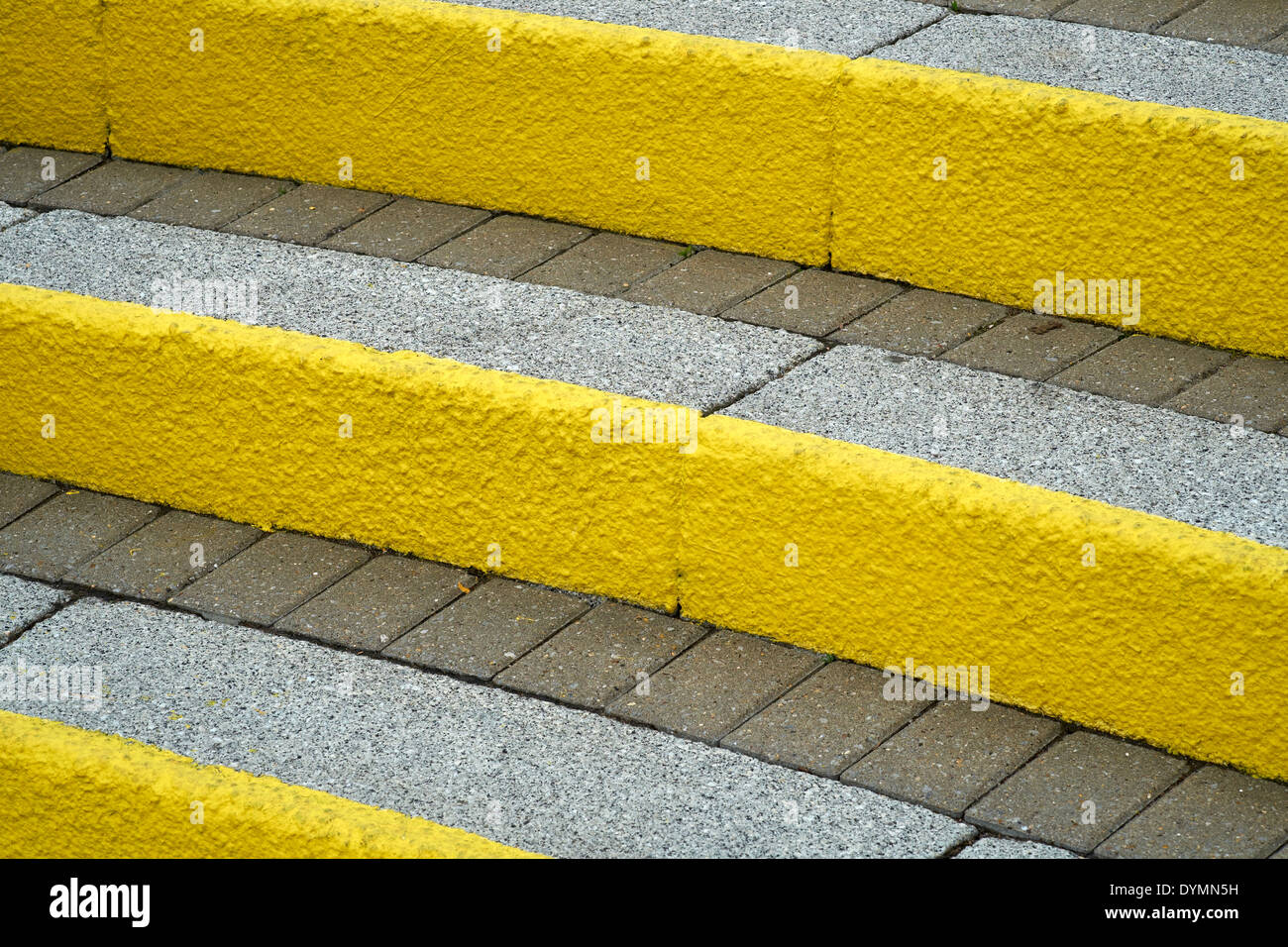 Yellow Painted Steps Stock Photos & Yellow Painted Steps Stock ...