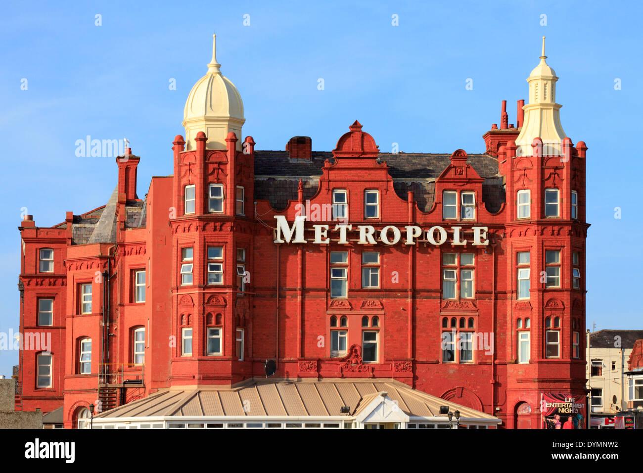 Grand Metropole Hotel, Blackpool, Lancashire, England, UK. - Stock Image