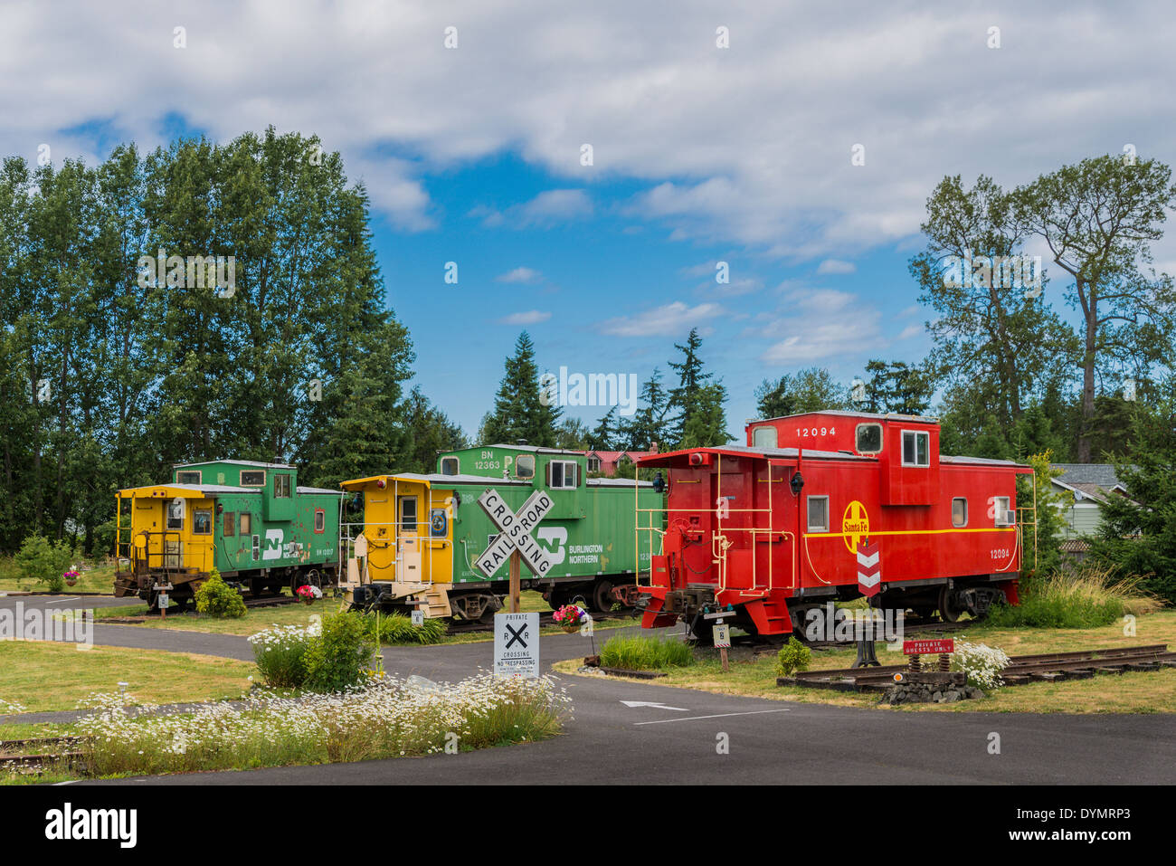 Cabooses Stock Photos & Cabooses Stock Images - Alamy