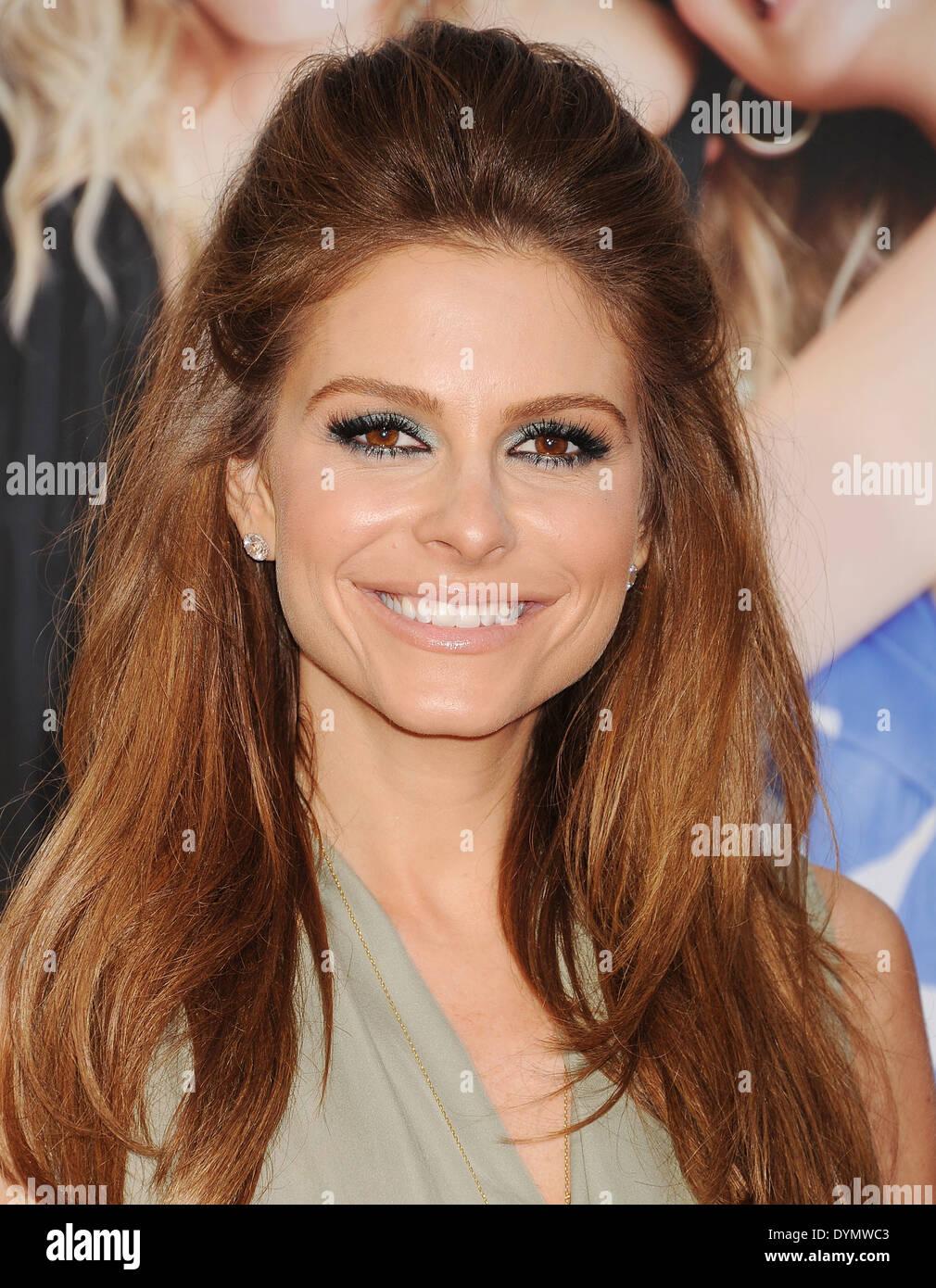 MARIA MENOUNOS  US TV personality in April 2014. Photo Jeffrey Mayer - Stock Image