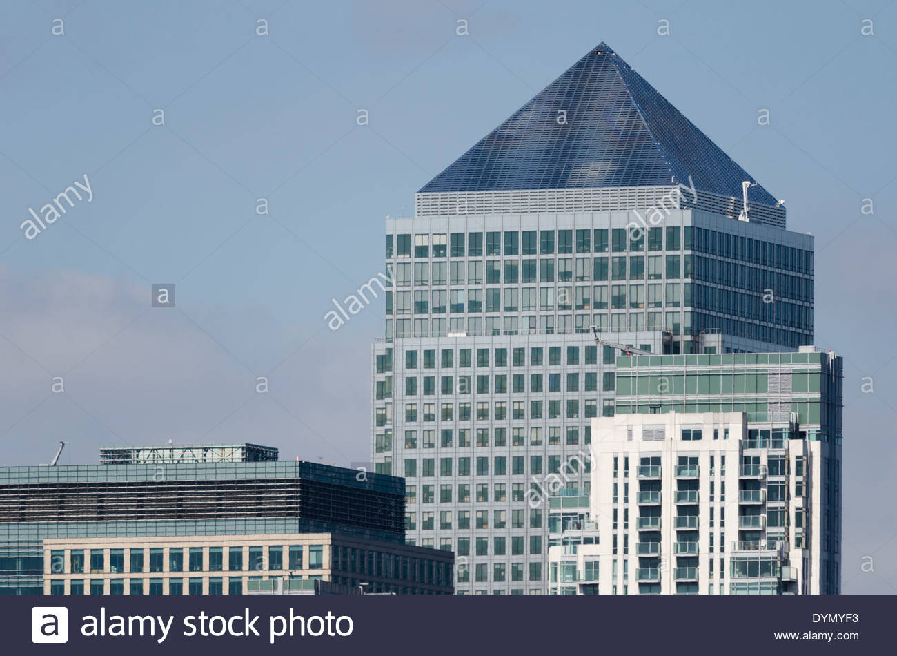One Canada Square - Stock Image