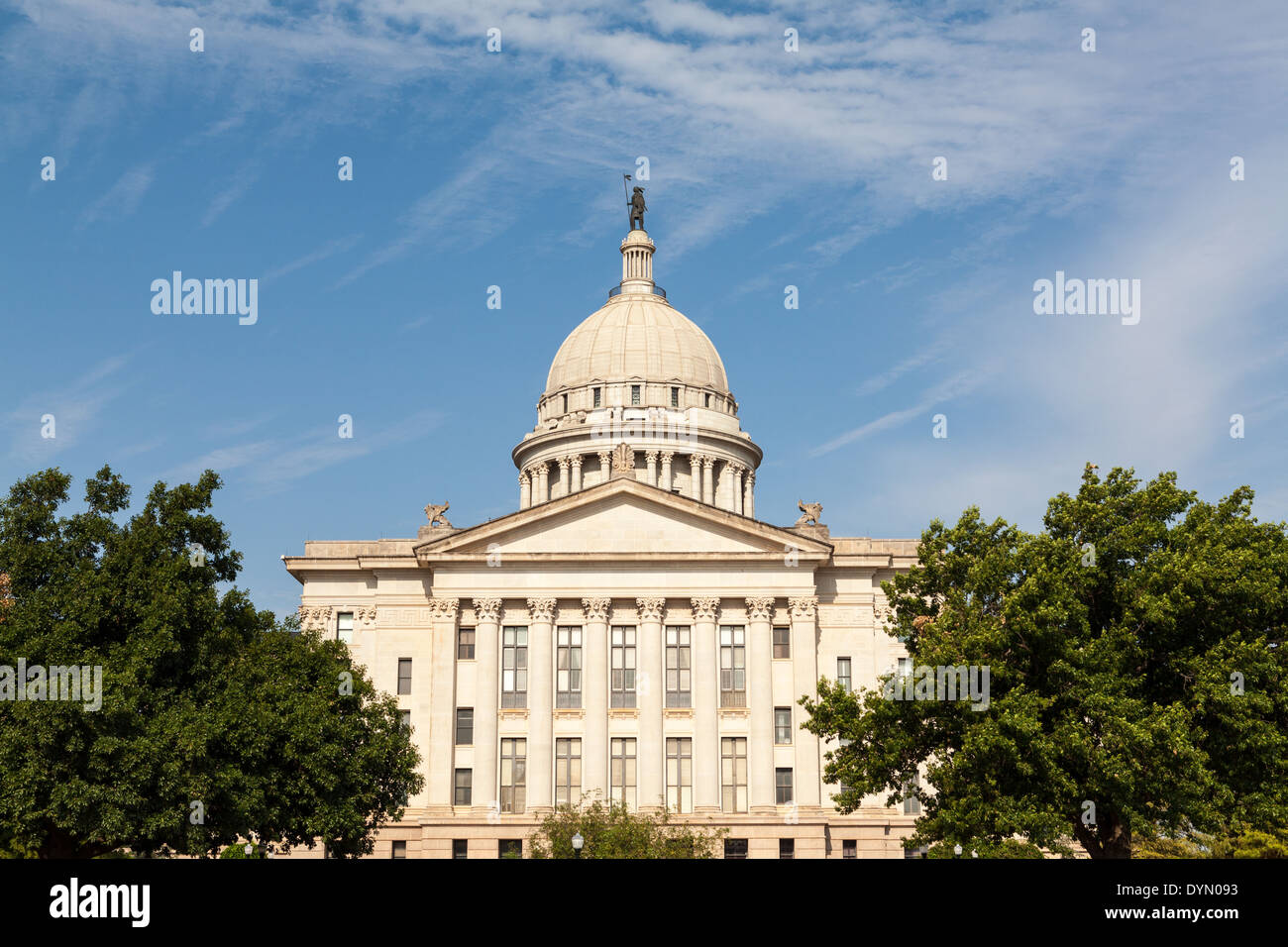 Oklahoma State Capitol Building, Oklahoma City - Stock Image