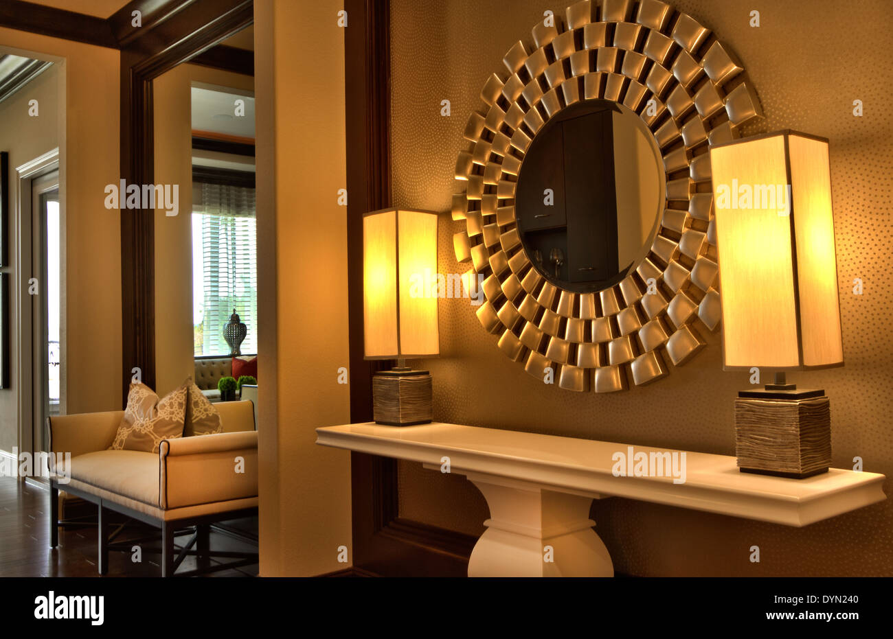 Beautiful interior design in luxury upscale mirror and lamps home in on beautiful luxury home interior, florida beach cottage interior, beautiful architecture home interior, beautiful florida landscaping ideas, house beautiful home interior,