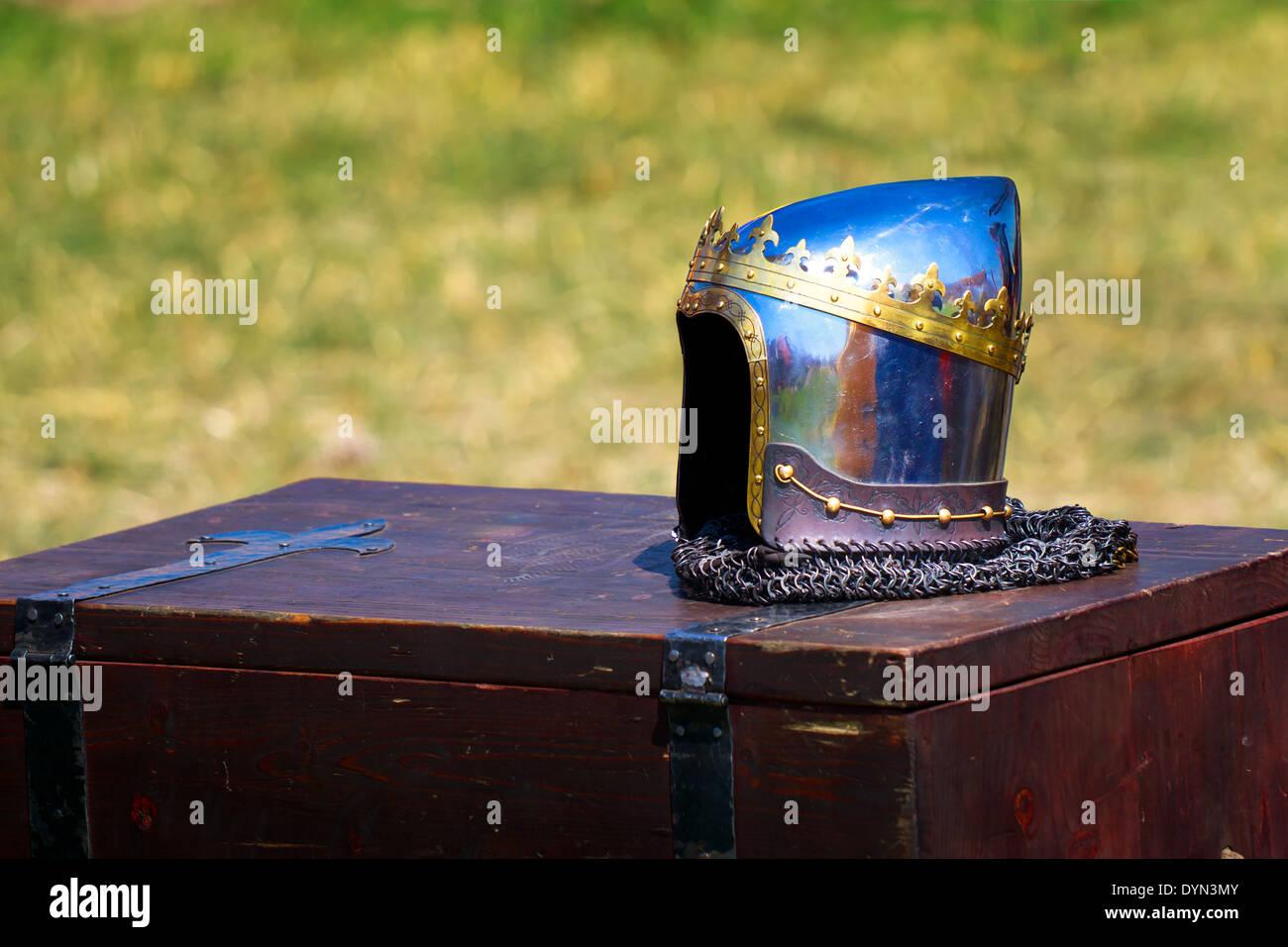 Helmet of the Grand Duke Stock Photo