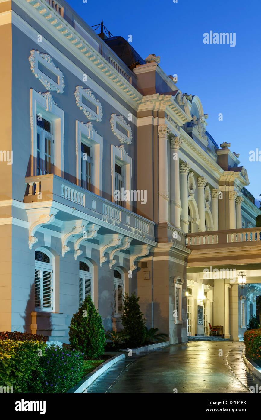 Puerto Rico Reception Center (formerly Antiguo Casino de San Juan), Beaux Arts style, Old San Juan, Puerto Rico Stock Photo
