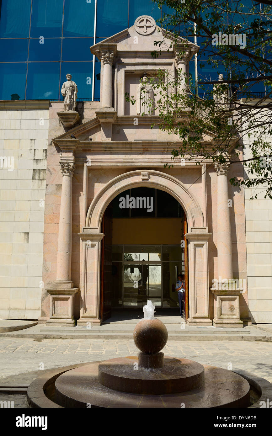 Site of the first Royal Pontifical University of Saint Jerome in Old Havana Cuba Pontificia Universidad de San Geronimo de la Habana - Stock Image