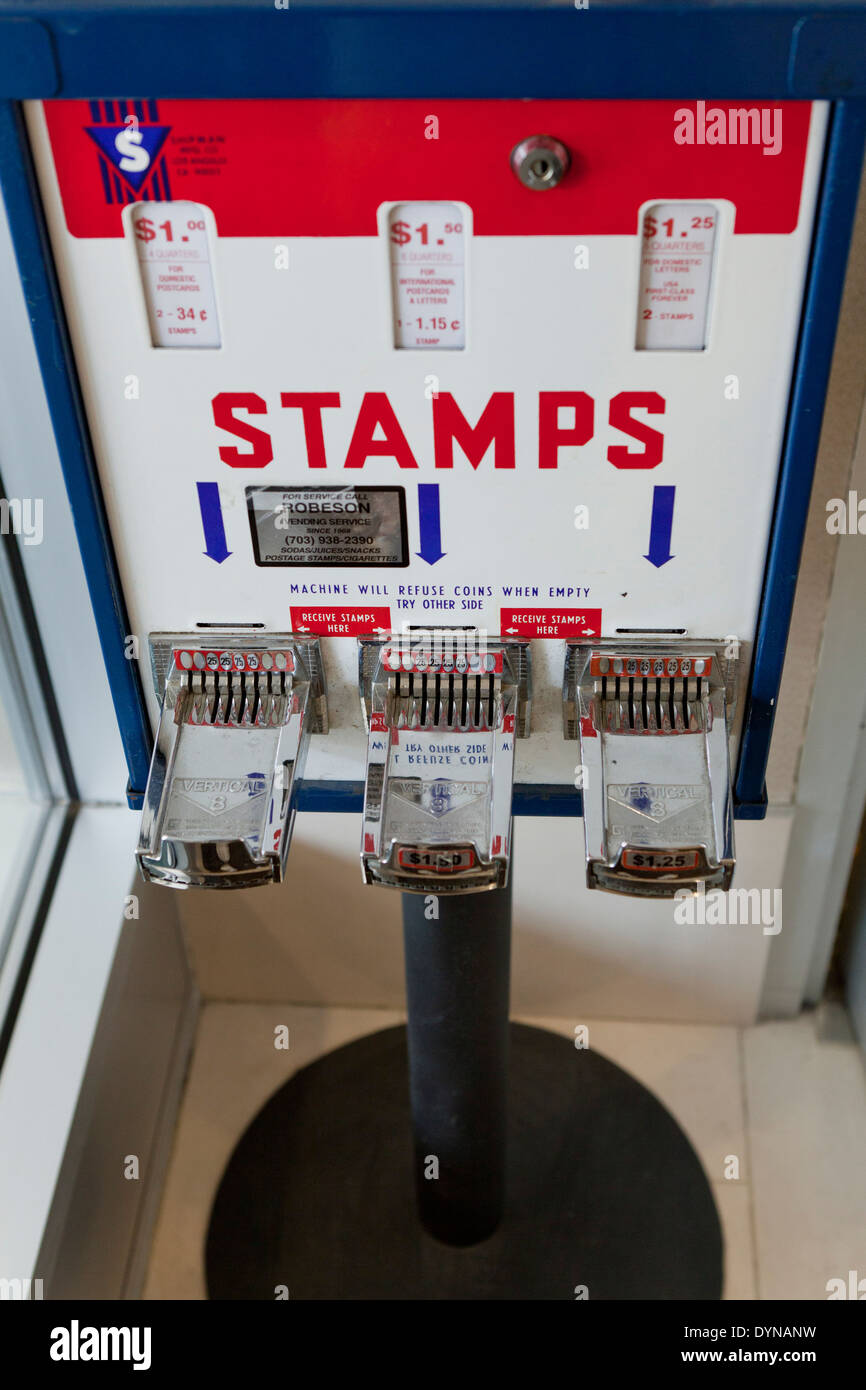 Coin Operated Stamp Dispenser