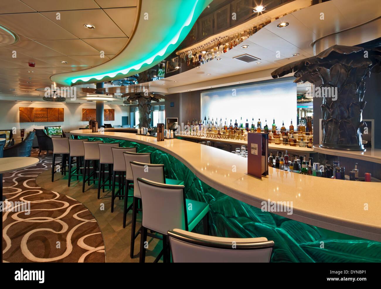 Norwegian Getaway Cruise Ship, Southampton, United Kingdom. Architect: SMC Design, 2014. - Stock Image
