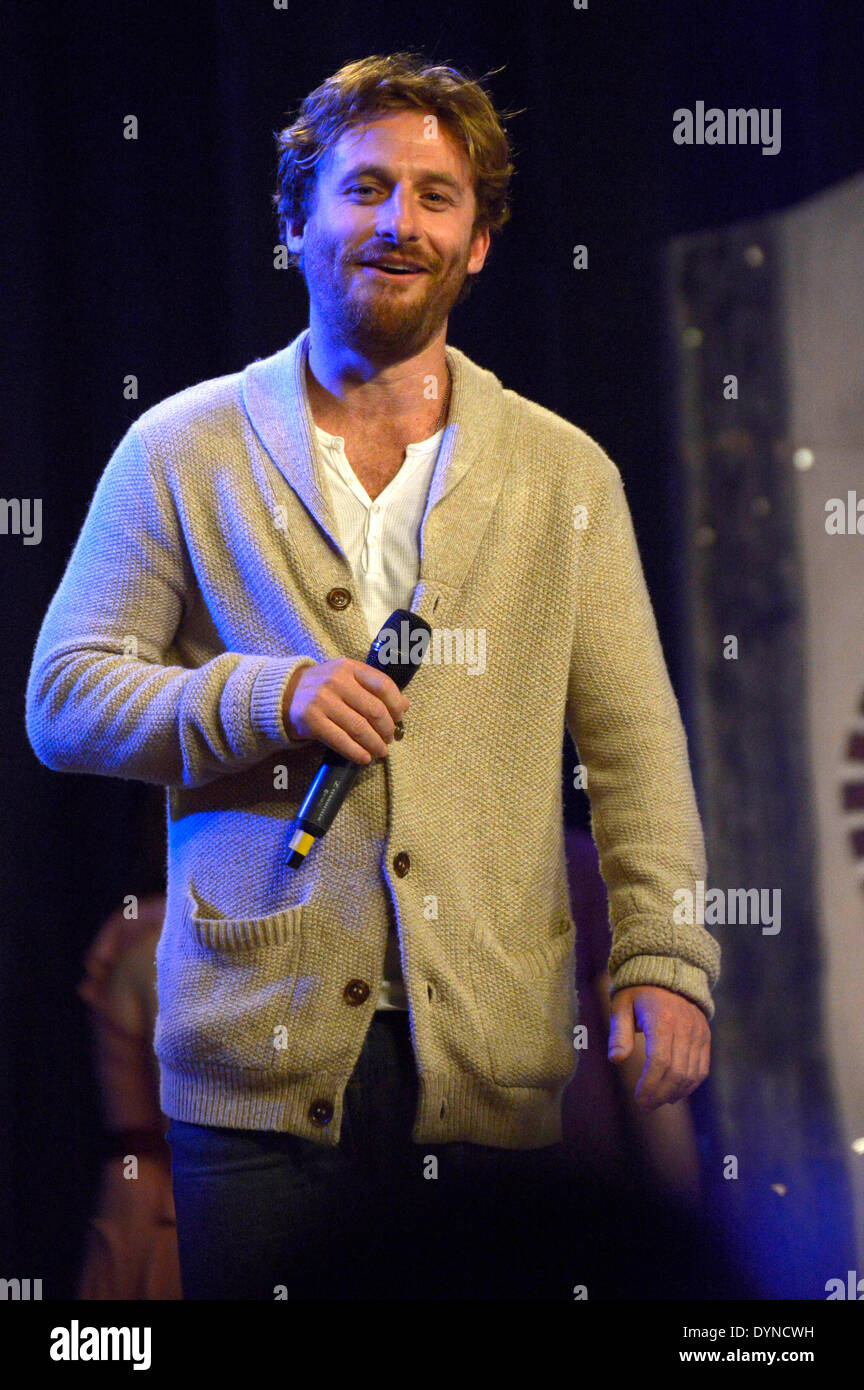 New Zealand actor Dean O'Gorman at the HobbitCon 2 convention at the Maritim Hotel in Bonn, Germany. On April 19, 2014/picture alliance - Stock Image