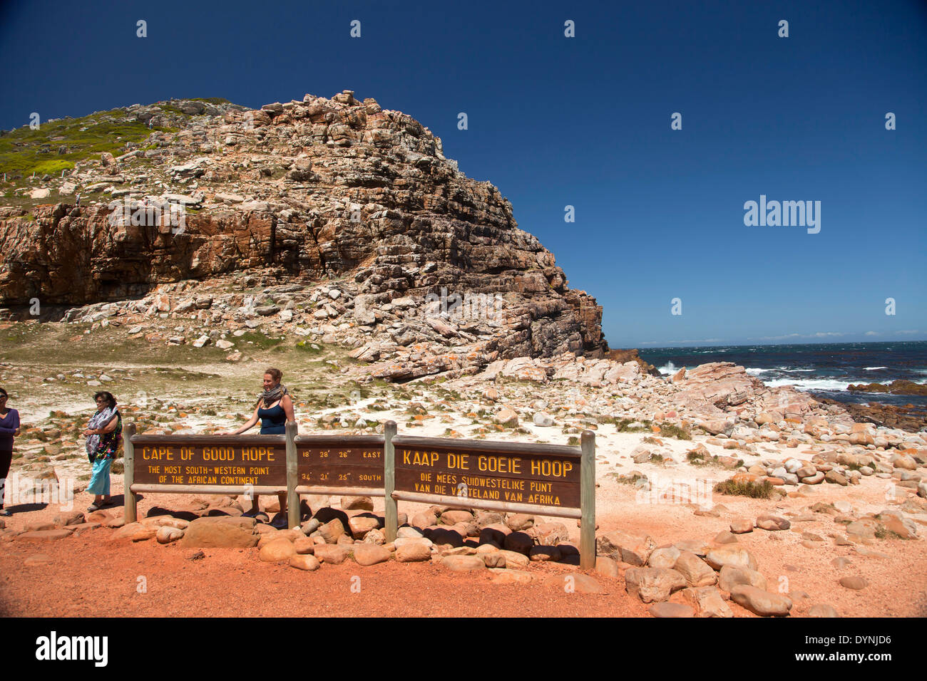 Cape of Good Hope, Cape Point, Cape Town, Western Cape, South Africa - Stock Image