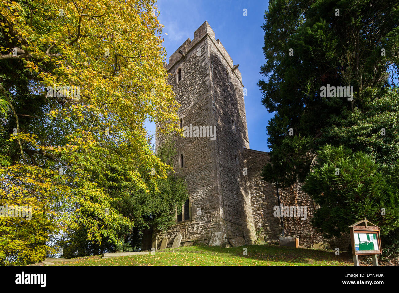 St. James Church Wigmore Herefordshire England UK - Stock Image