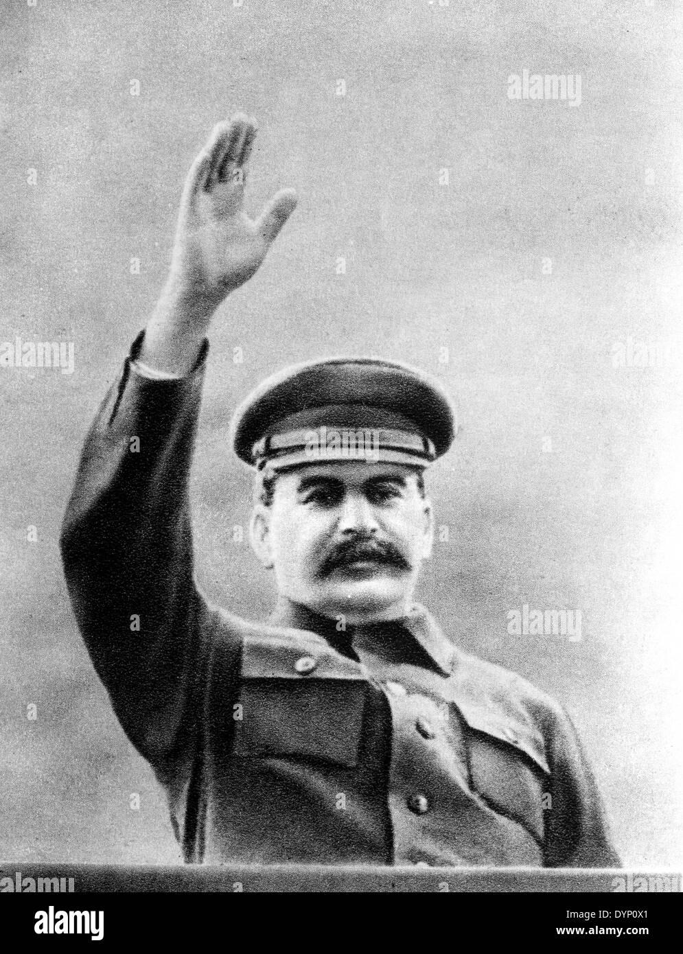 Joseph Stalin (1878-1953), leader of the Soviet Union - Stock Image
