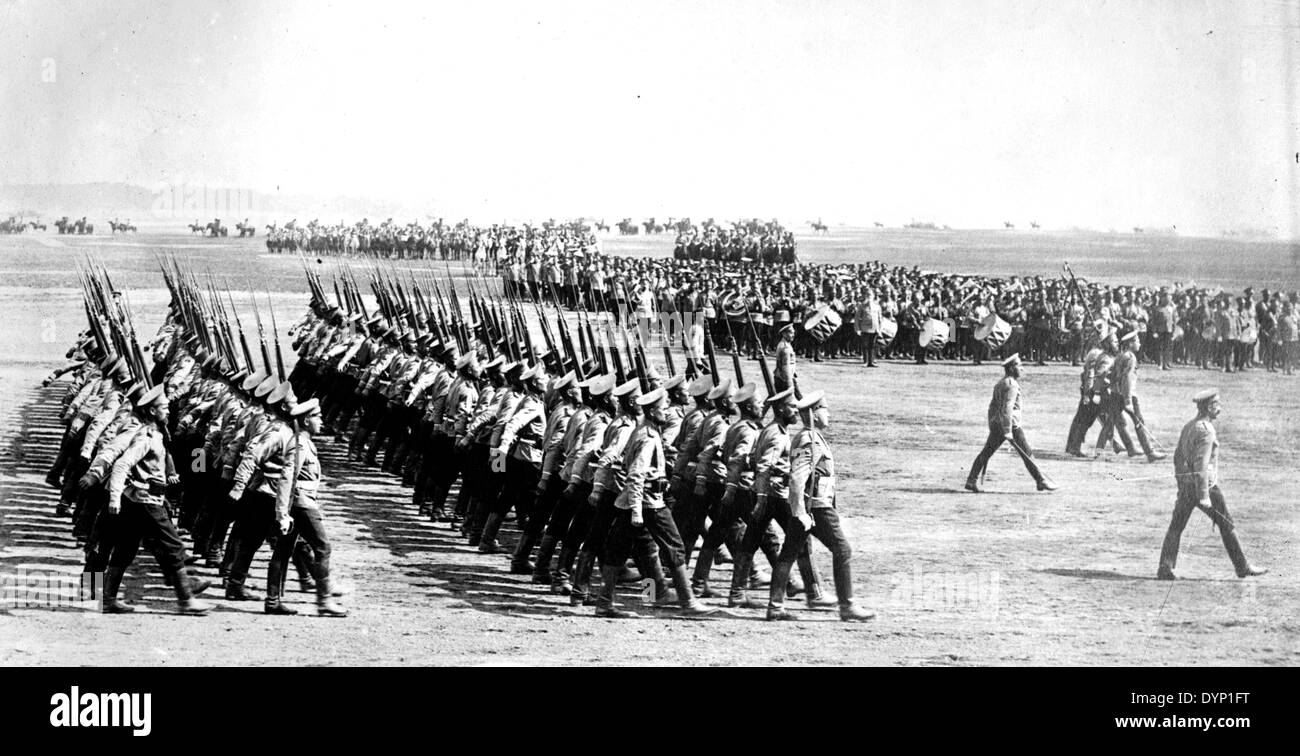 RUSSIAN INFANTRY about 1914