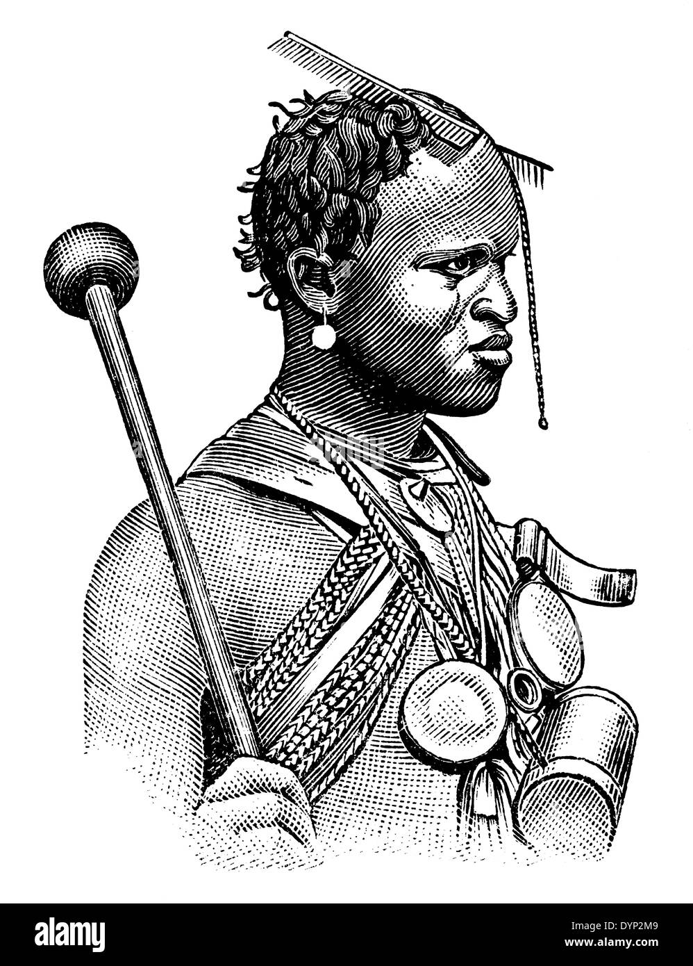 zulu dancer coloring pages - photo#21