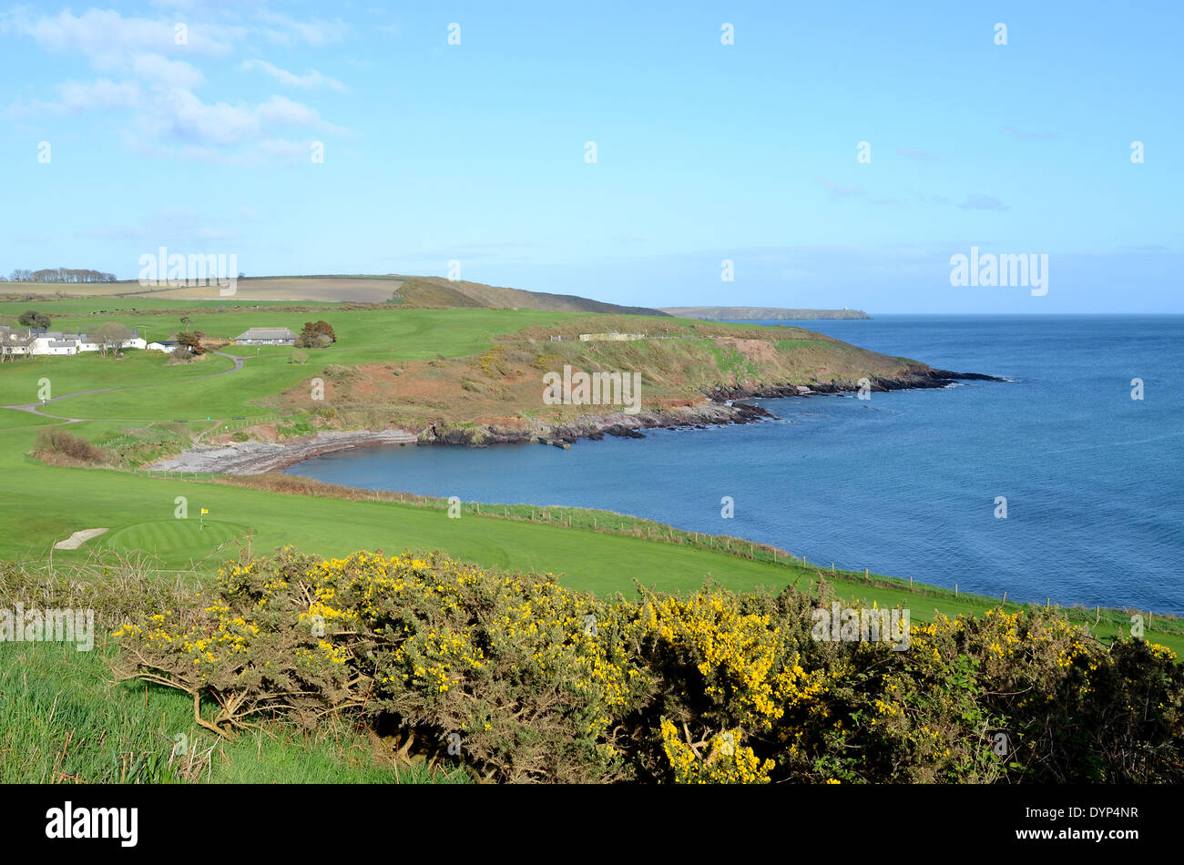 the coastline of county cork in south west ireland - Stock Image