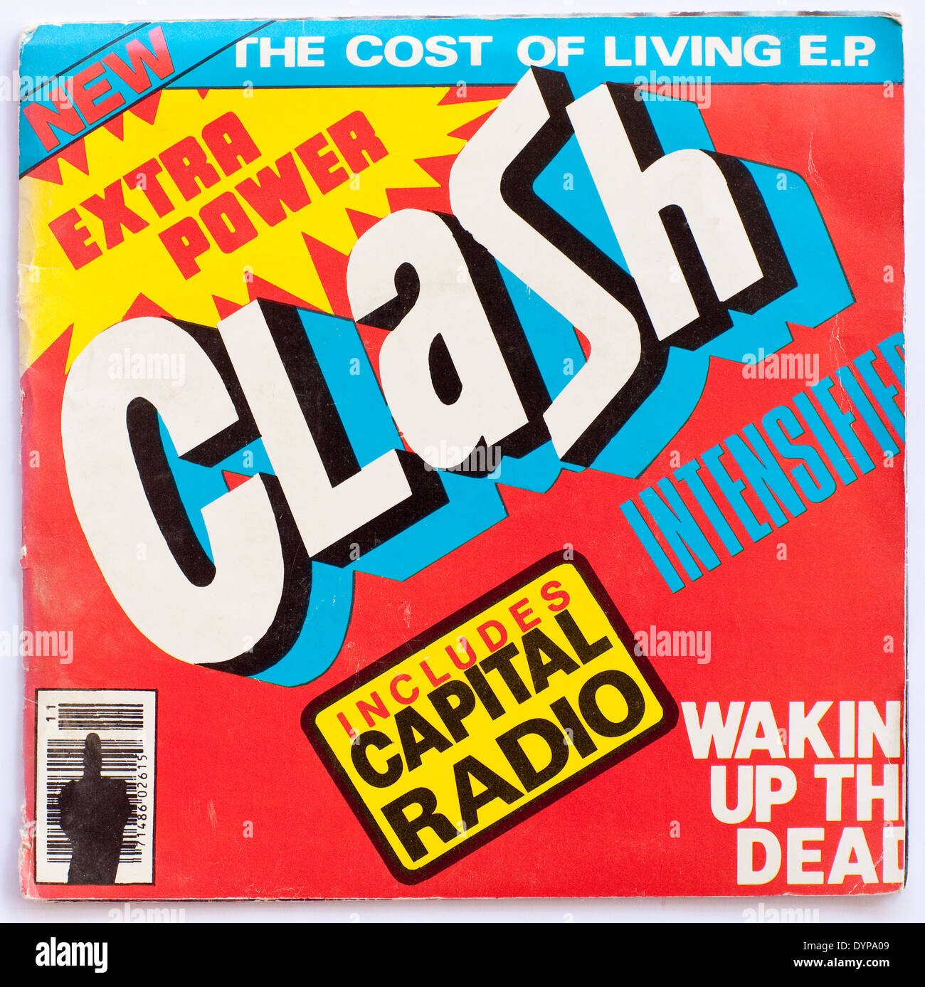 The Clash, The Cost Of Living EP, CBS Records 1979 - Stock Image