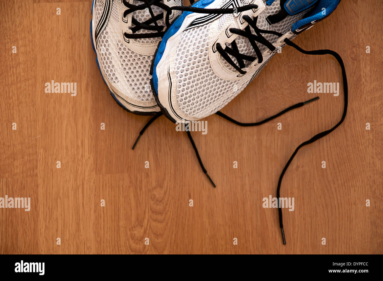 Sport: running shoes. - Stock Image