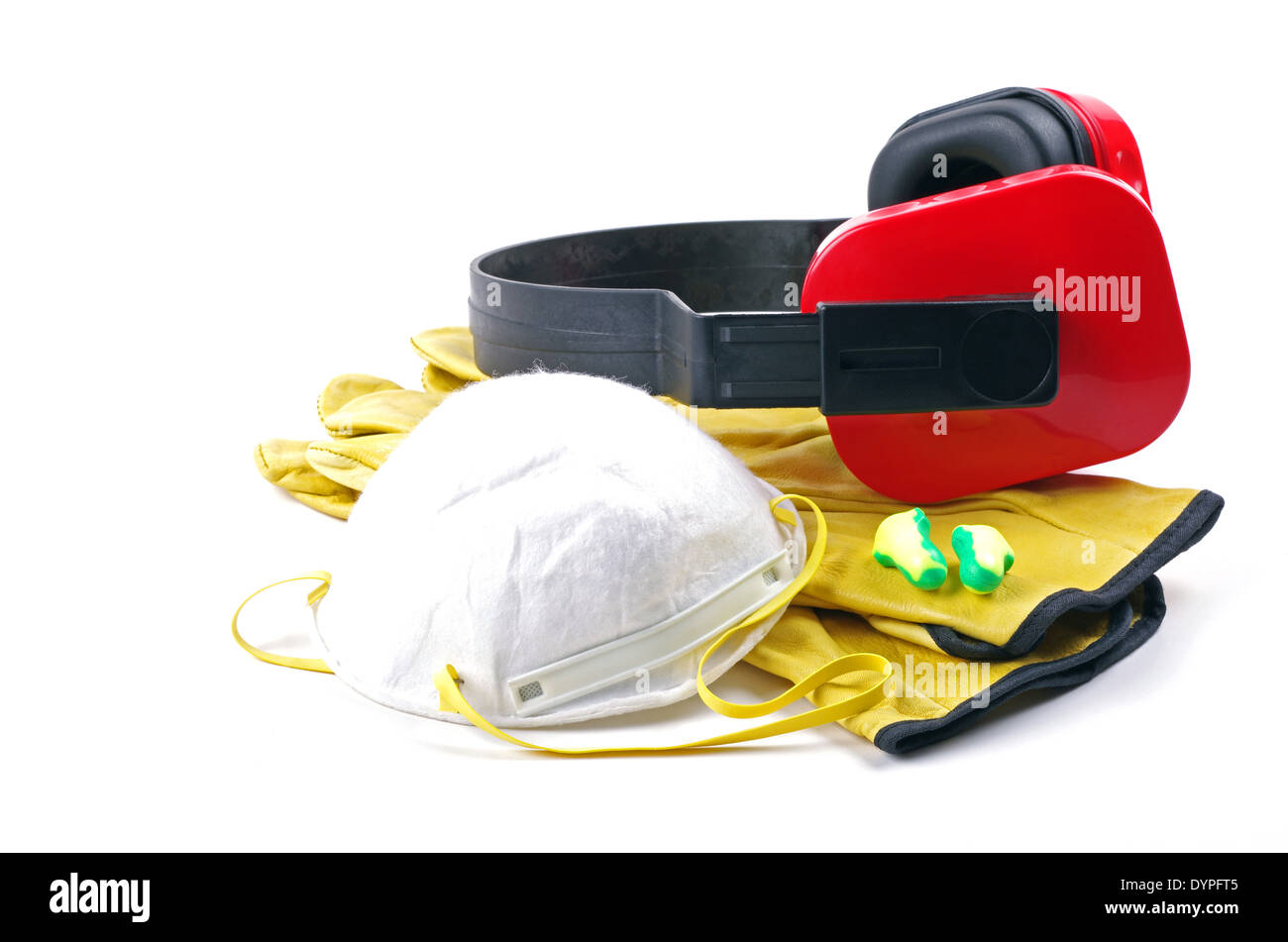 personal safety gear - Stock Image