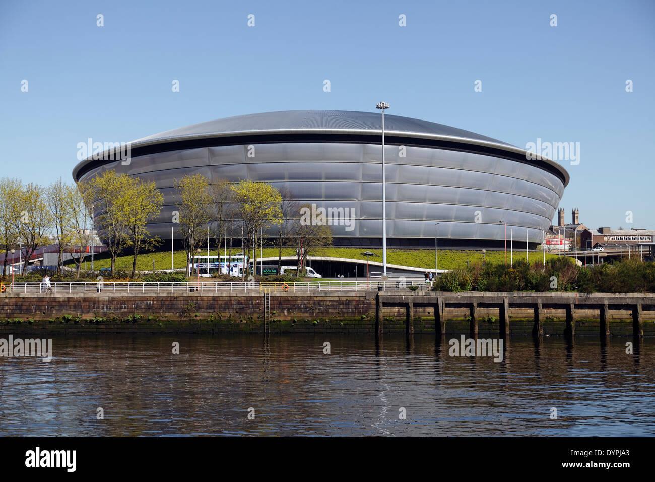 The SSE Hydro Arena in Glasgow, Scotland, UK - Stock Image