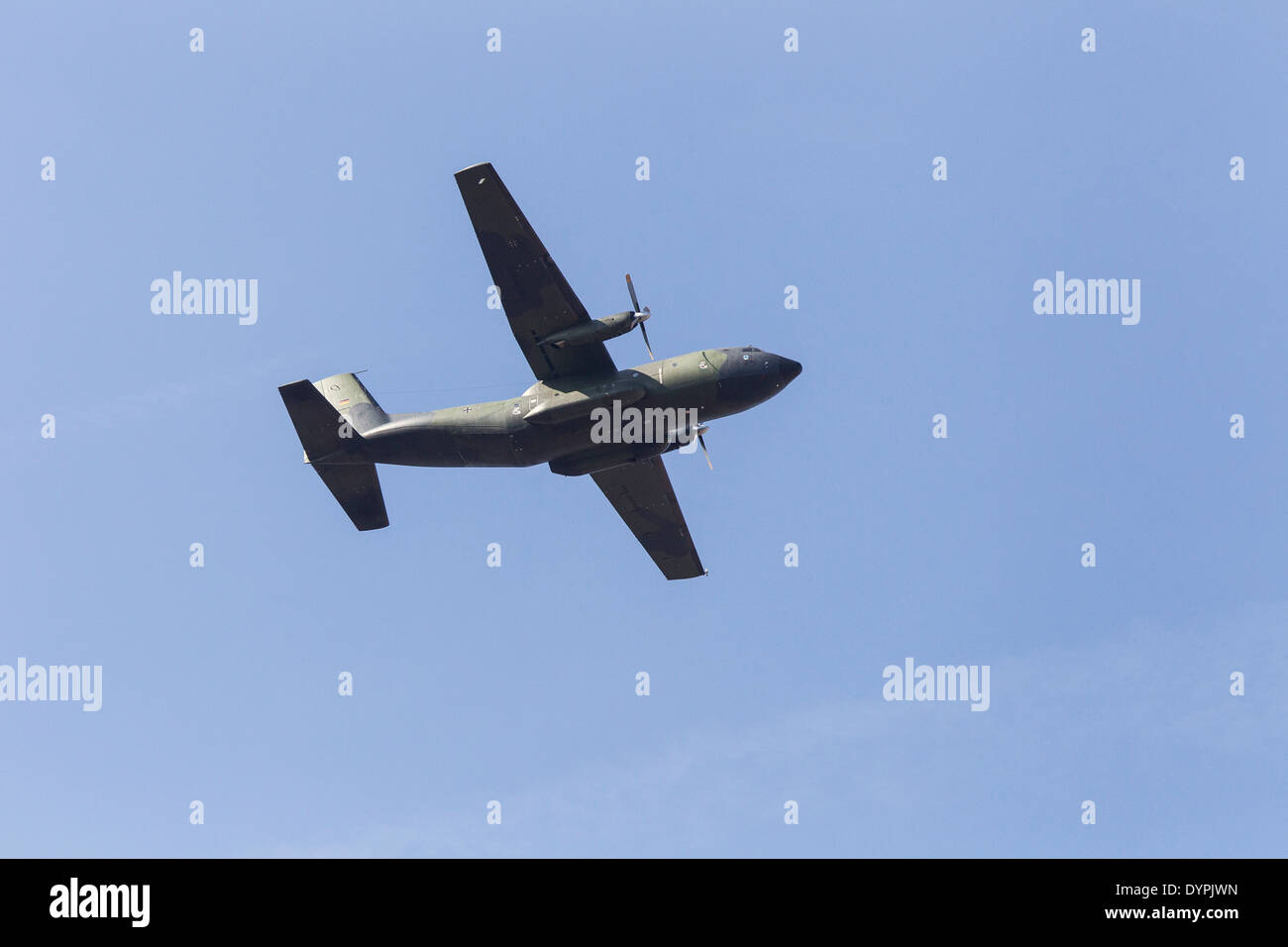 Hercules C160 50-92, The Air Component  COMOPSAIR, formerly the Belgian Air Force - Stock Image