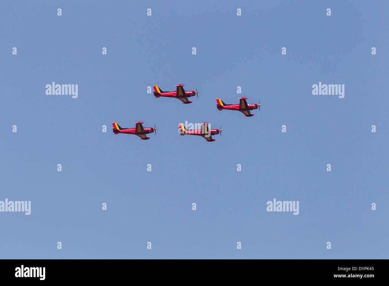 SIAI-Marchetti SF.260 basic trainer - Stock Image
