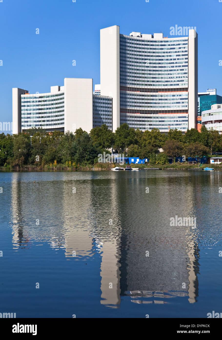 UNO City, Vienna, Austria - Stock Image