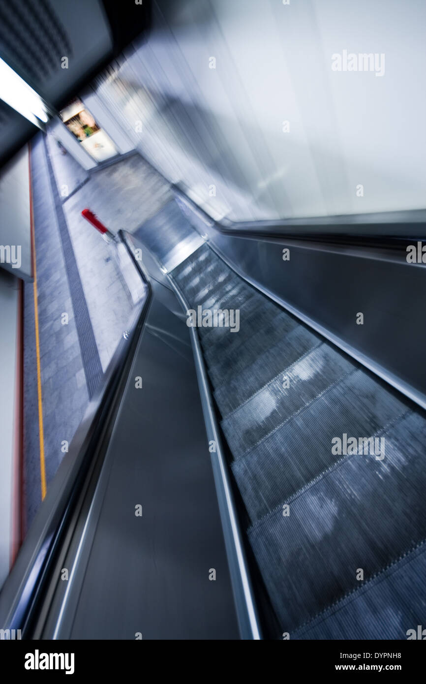 Rolltreppe - Stock Image