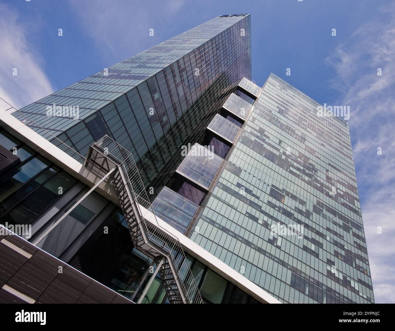 Twin Towers, Wienerberg, Wien, Österreich - Stock Image