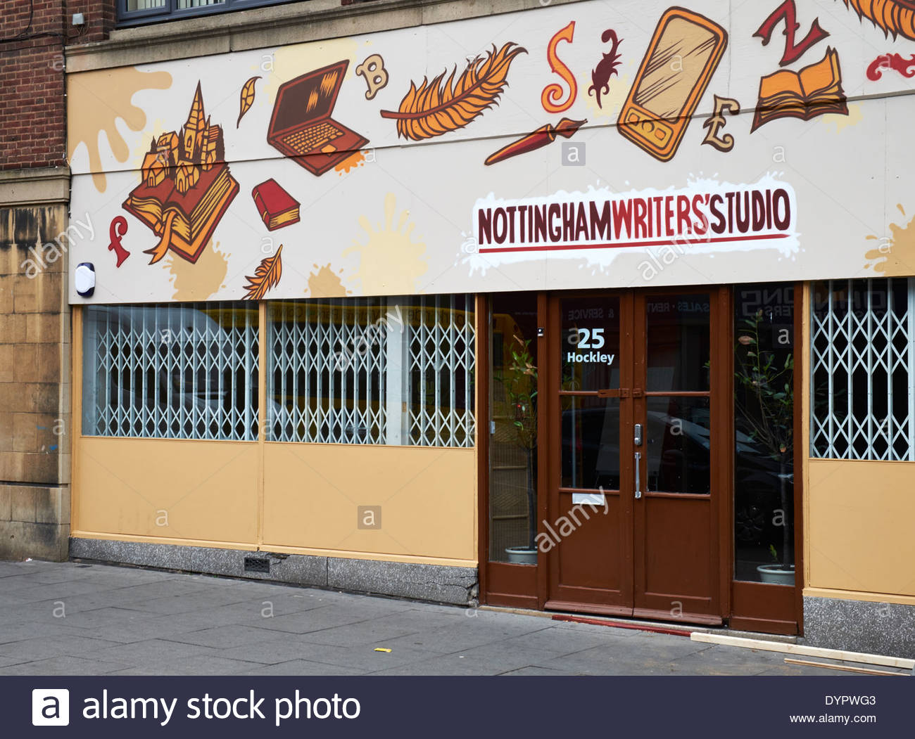 Writers' Studio, Hockley, Nottingham - Stock Image