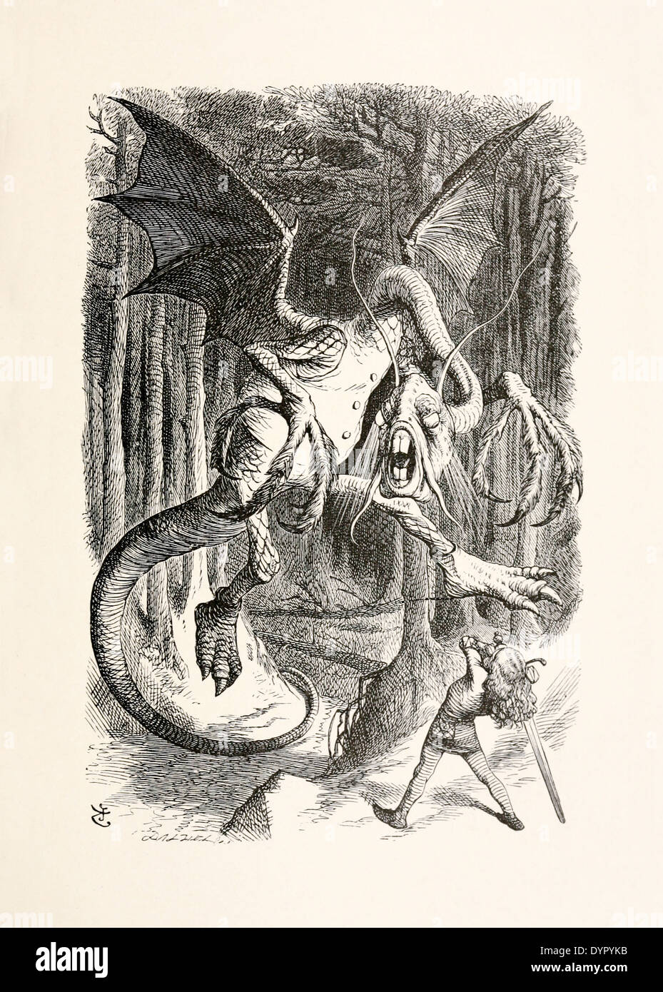 alice kills the jabberwocky