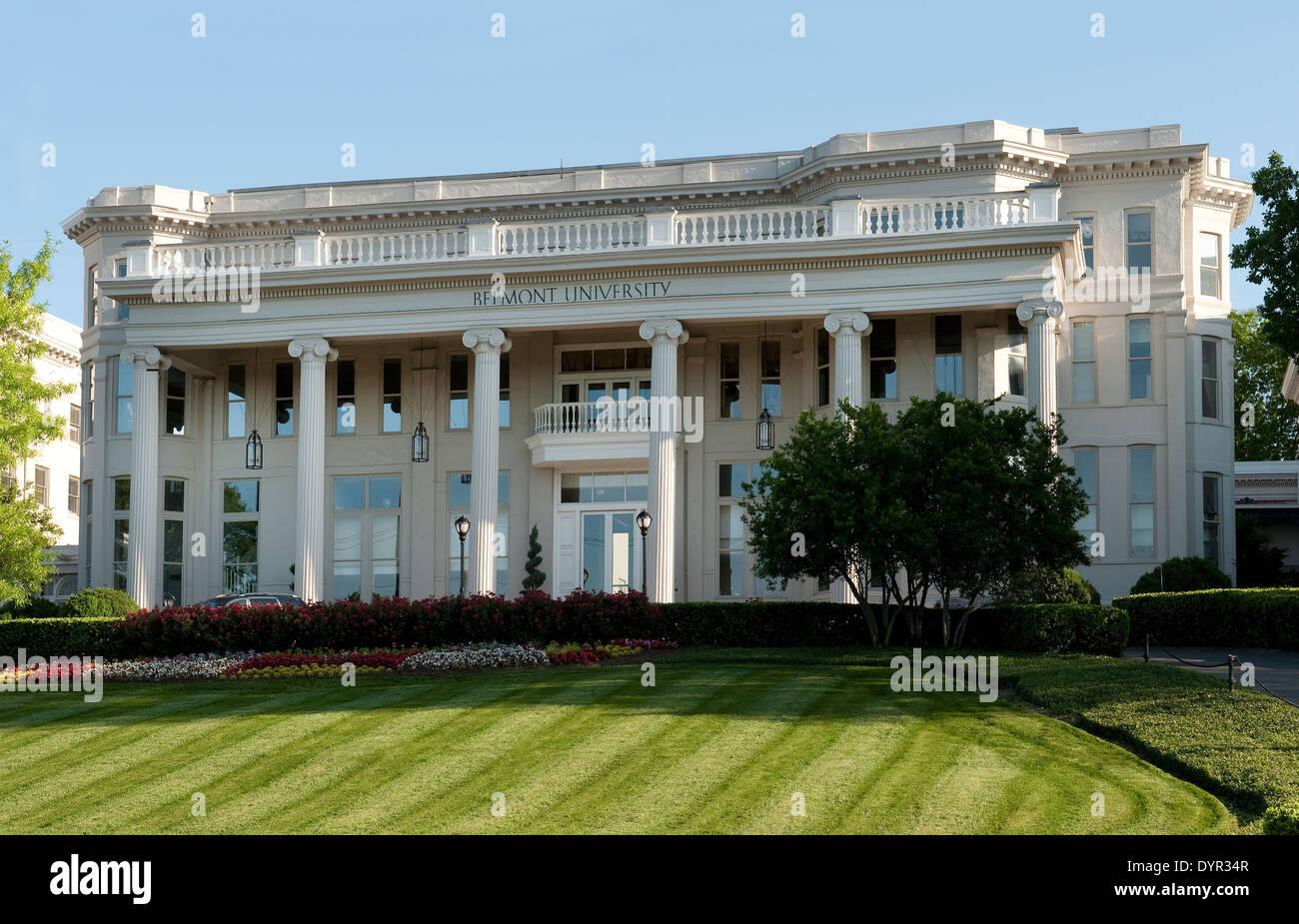 Fidelity Hall at Belmont University, Nashville Tennessee - Stock Image